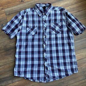{preloved} Men's Shirt Sleeve Button Down Shirt